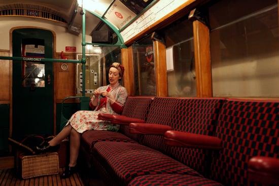 Blitz Anniversary in London Underground