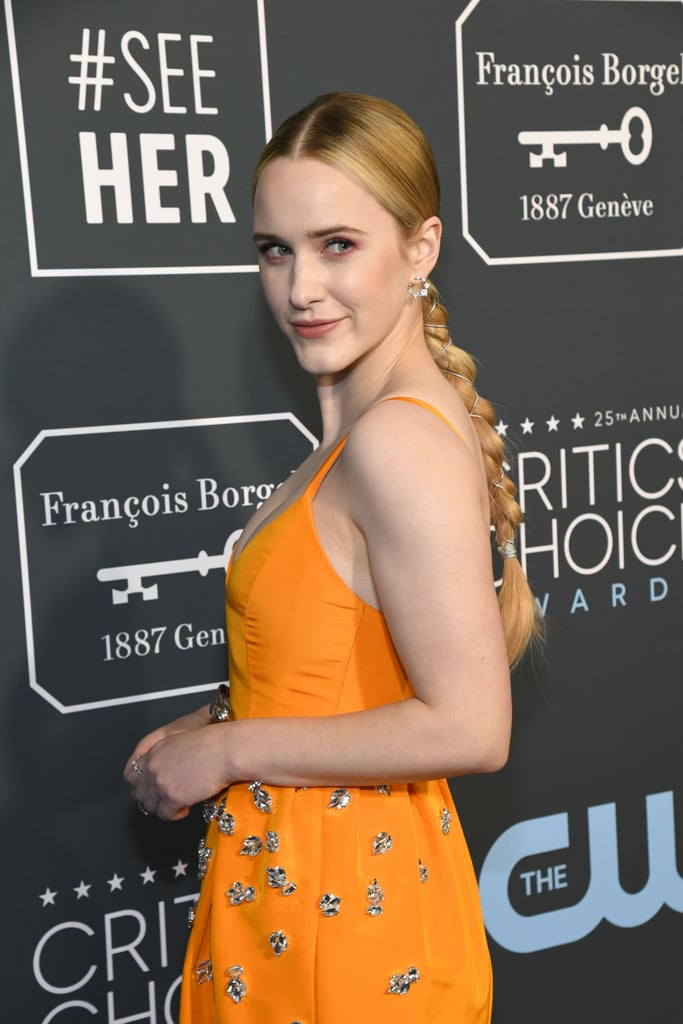 Rachel Brosnahan at the 2020 Critics' Choice Awards