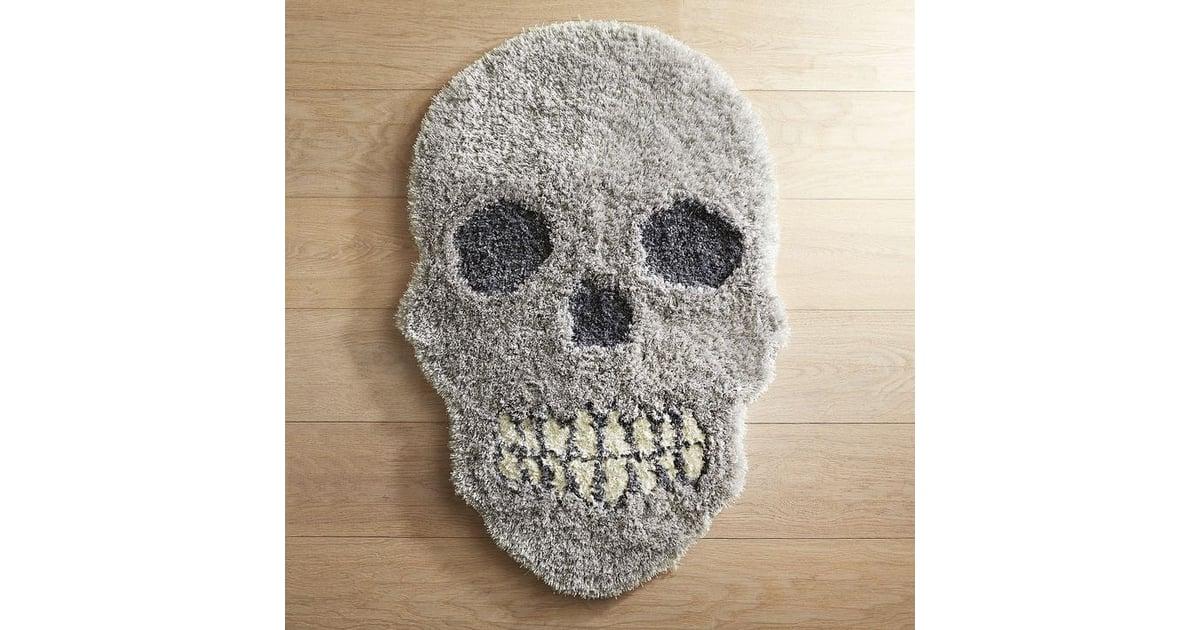 Pier 1 Imports Skull Shag Rug Halloween Decorations From