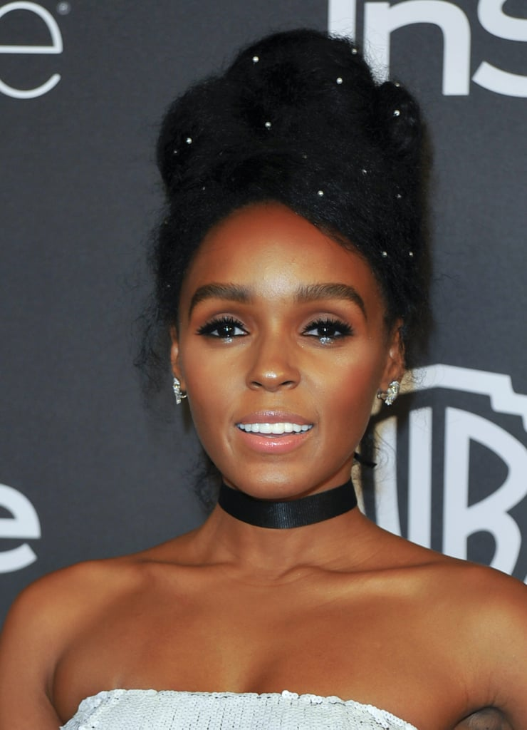 Janelle Monáe at the Golden Globes
