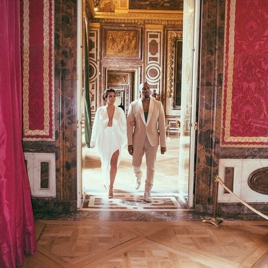 Kim Kardashian Wedding Anniversary Style