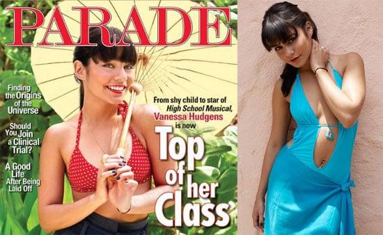 Bikini Photos of Vanessa Hudgens For Parade Magazine