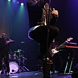 Nick Jonas performed at the Gramercy Theatre in NYC on Tuesday.
