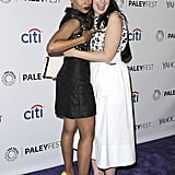 Kerry Washington showed mad love for her Scandal costar Katie Lowes at PaleyFest in LA on Sunday.