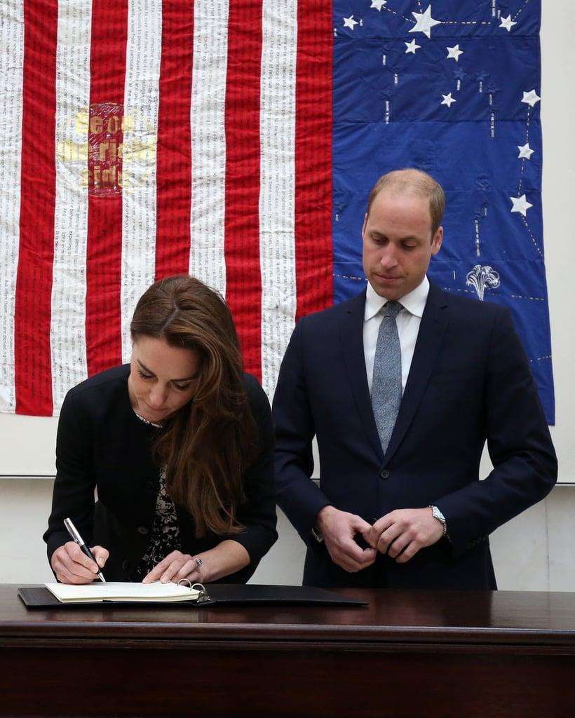 Duke and Duchess Cambridge Pay Respects Orlando Shooting