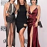 Kendall Jenner, Khloé Kardashian, and Kylie Jenner
