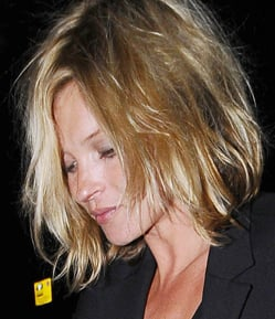 Photos of Kate Moss New Short Hair Cut Bob Mid-Length. Love or Hate Her Latest Hair Style?