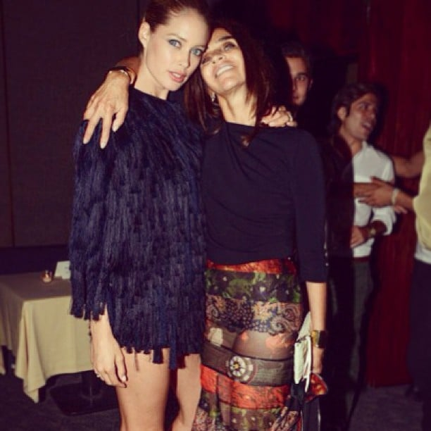 Celebrity Instagram Pictures From New York Fashion Week ...