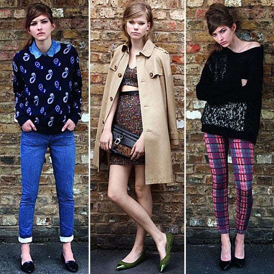 British It Girl Cool Done Right Preview Topshops Autumn Winter 2012 Look Book Before