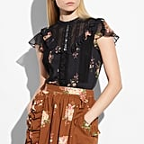 Coach Lacework Western Blouse