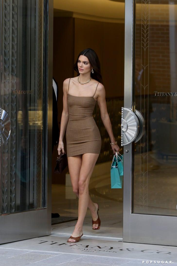 Kendall Jenner's Slinky Minidress Is So '90s
