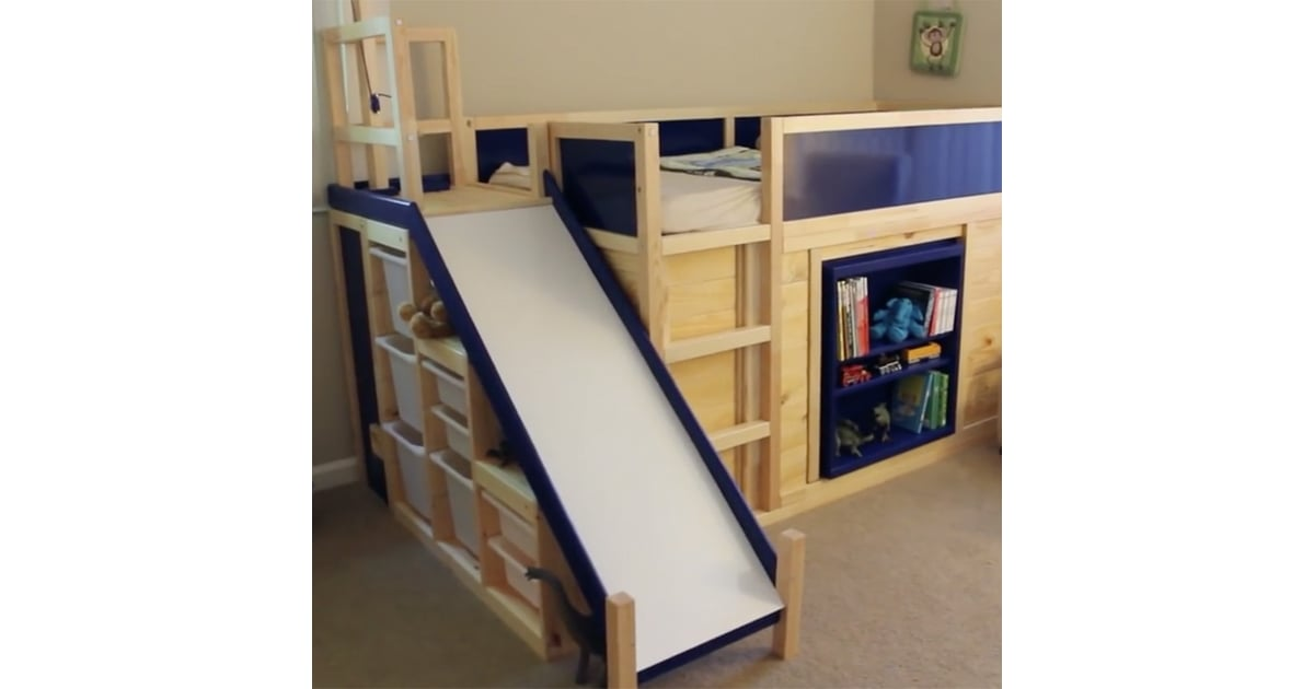 Kids Bed Ikea Hack Popsugar Home