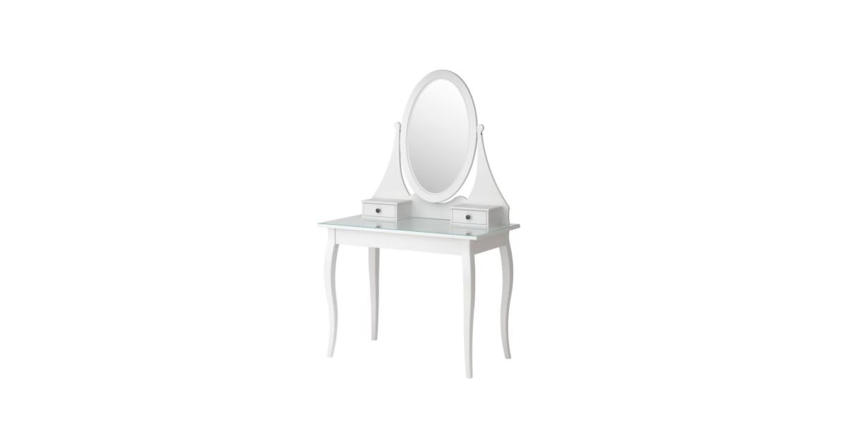 Ikea hemnes dressing table with mirror 379 bellasugar - Hemnes dressing table with mirror white ...