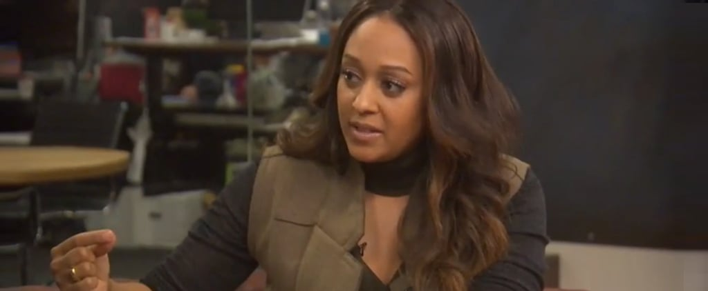 "Tia Mowry Proudly Tells the World, ""I'm Not Pregnant, I Am Just Happy"""