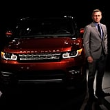 Daniel Craig Unveils the Range Rover Sport | Photos