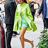 Kendall Jenner Wearing Maisie Wilen