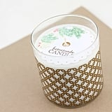 DIY Gold Vinyl Candle Wrap
