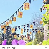 "Upload your photo like you normally would to Instagram. Include any tags, hashtags, and geotags and filter away. Once your photo is uploaded, head to your profile and click on the post from your grid. Then find the message icon (which looks like a paper airplane) next to the ""Like"" and ""Comment"" buttons."