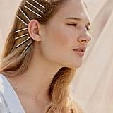 Kitsch x Justine Marjan Rhinestone Bobby Pin Set