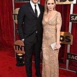 إيميلي بلانت وجون كراسينسكي في حفل جوائز SAG Awards
