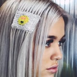 We Can t Wait to Copy Lottie Tomlinson s Emoji Hair Tapestry at Our Next Music Festival