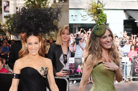 Which of Sarah Jessica Parker's London Headpieces Do You Prefer?