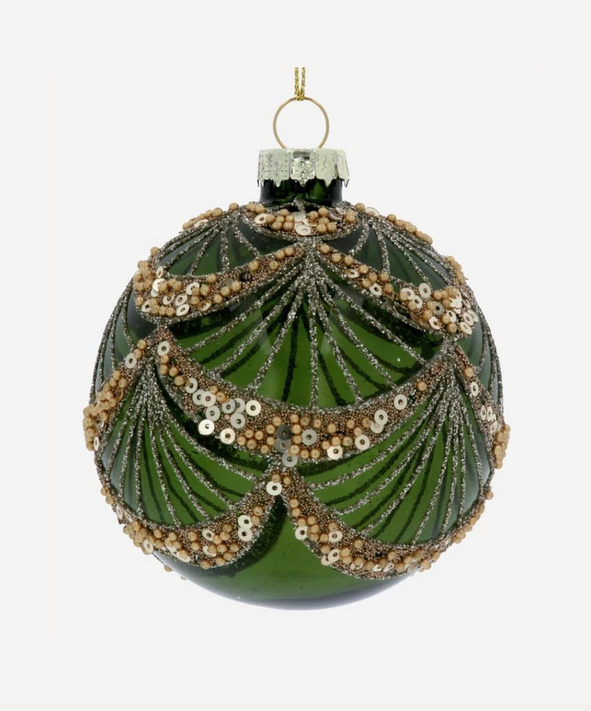 Liberty London Beads and Sequin Bauble