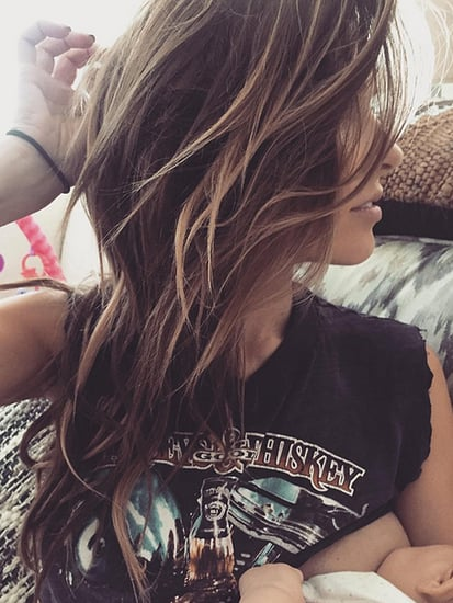 '#MomOnTheGo': Audrina Patridge Shares Photo of Her Breastfeeding Daughter Kirra