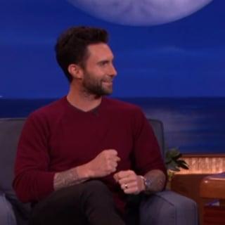 Adam Levine on Blake Shelton on Conan | Video