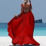 ZQISHMAO Boho Maxi Dress
