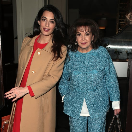 Amal Clooney and Her Mum Out in London March 2017