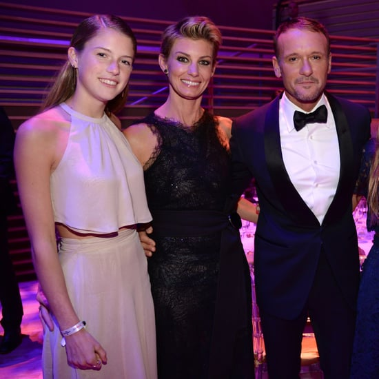 Faith Hill and Tim McGraw With Daughters at Time 100 Gala