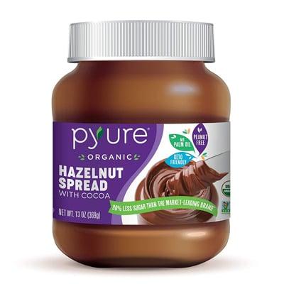 Pyure Organic Hazelnut Spread With Cocoa
