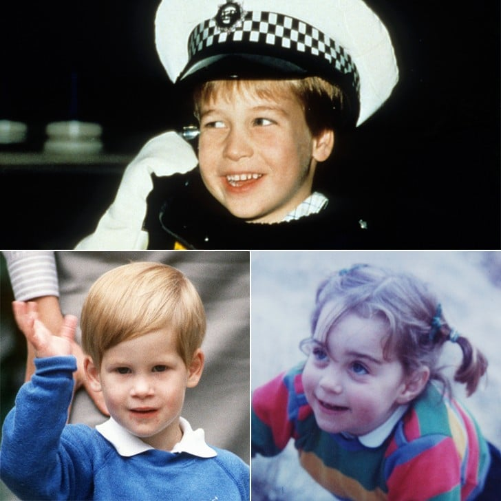 Pictures of the British Royal Family as Kids