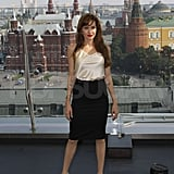 Pictures of Angelina Jolie in Russia