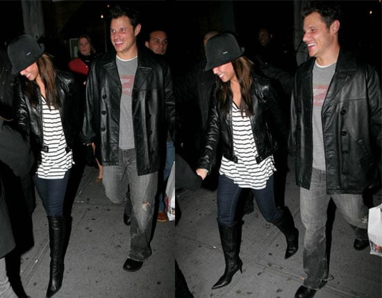 Nick and Vanessa Still Smiling