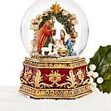 Nativity Musical Snow Globe
