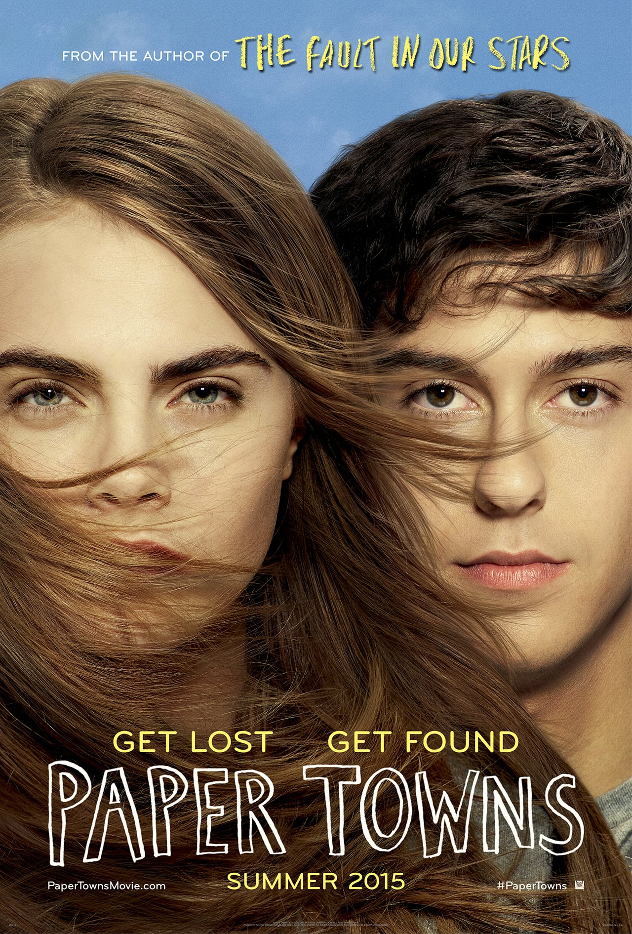 Paper towns movie in stores