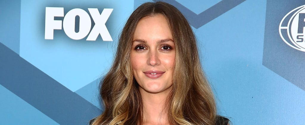 Leighton Meester Makes Her First Red Carpet Appearance Since Having Her Baby
