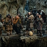 A scene from The Hobbit: An Unexpected Journey.