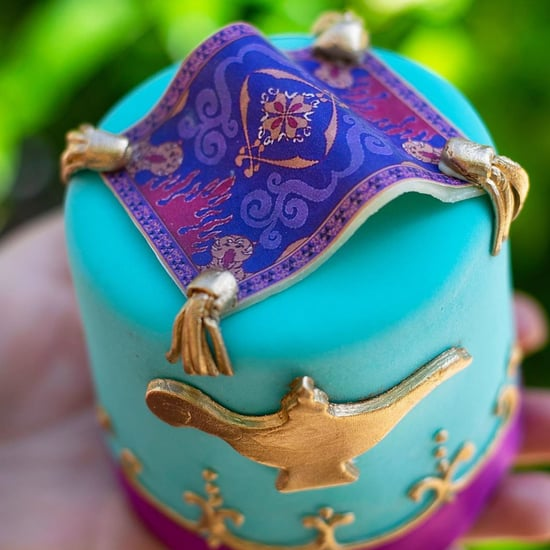 Disney World Aladdin Magic Carpet Cupcake