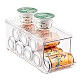 InterDesign Linus Fridge Binz Soda Can Organizer With Shelf