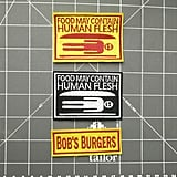 Bob's Burgers Parody Embroidered Patches