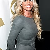 """Britney Spears posed for photos at the """"We Will Always Love You"""" tribute to Whitney Houston in LA."""