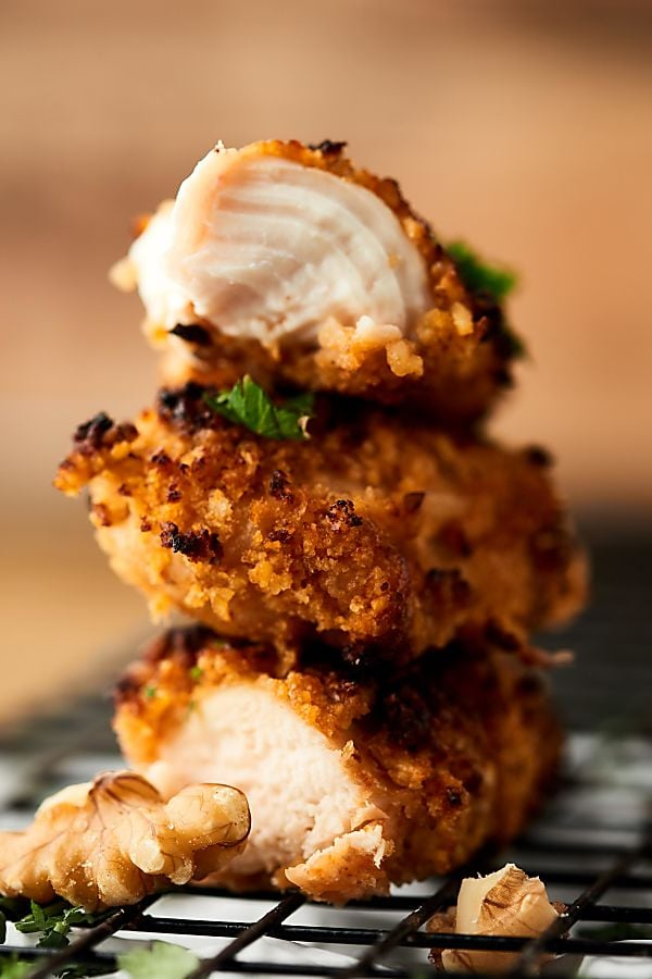 Sweet and Spicy Walnut Chicken Tenders