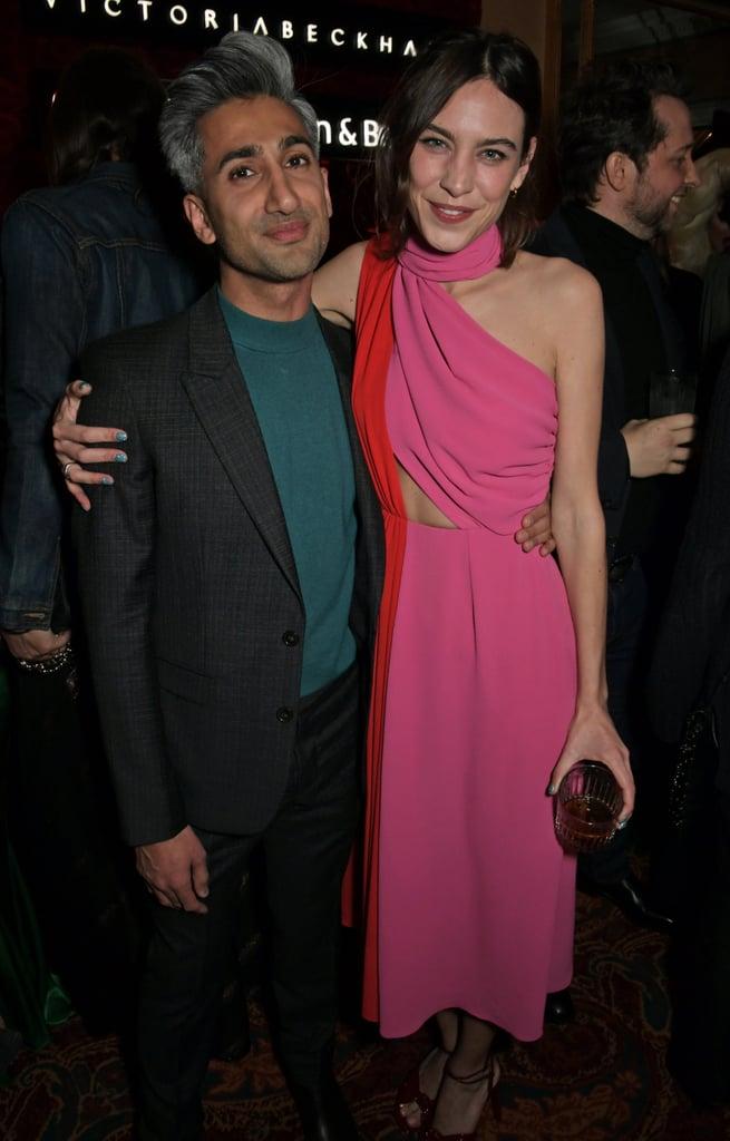 تان فرانس وأليكسا تشونغ في عرض أزياء فيكتوريا بيكهام وحفل يوتيوب