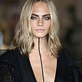 Cara Delevingne's Ashy Blond Waves, 2016
