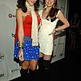 Haylie and Hilary Duff made their costumes sexy for a 2005 bash.