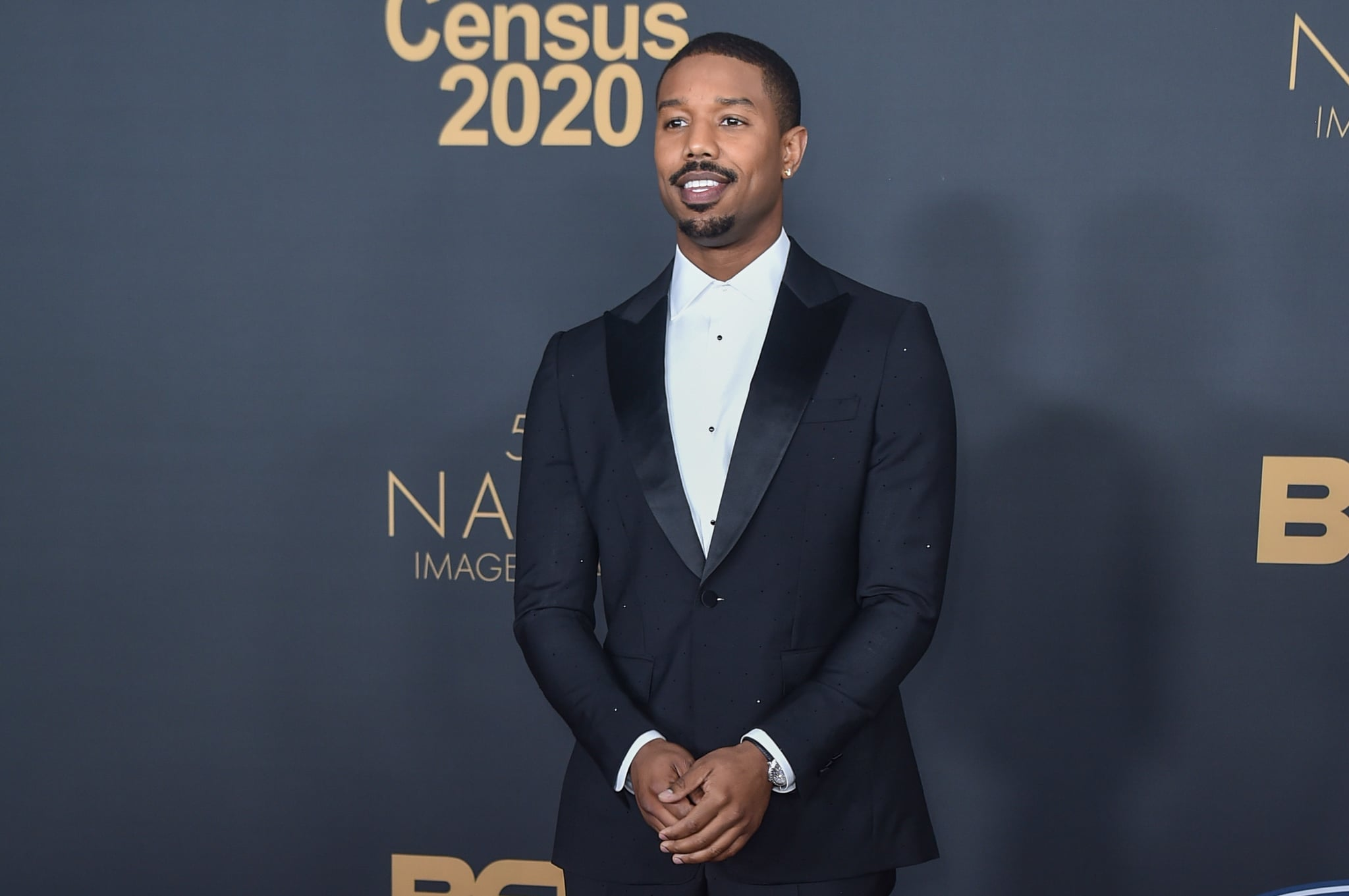 PASADENA, CALIFORNIA - FEBRUARY 22: Michael B. Jordan attends the 51st NAACP Image Awards at the Pasadena Civic Auditorium on February 22, 2020 in Pasadena, California. (Photo by Aaron J. Thornton/FilmMagic)