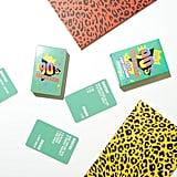 Multicoloured '90s Pop Culture Trivia Cards